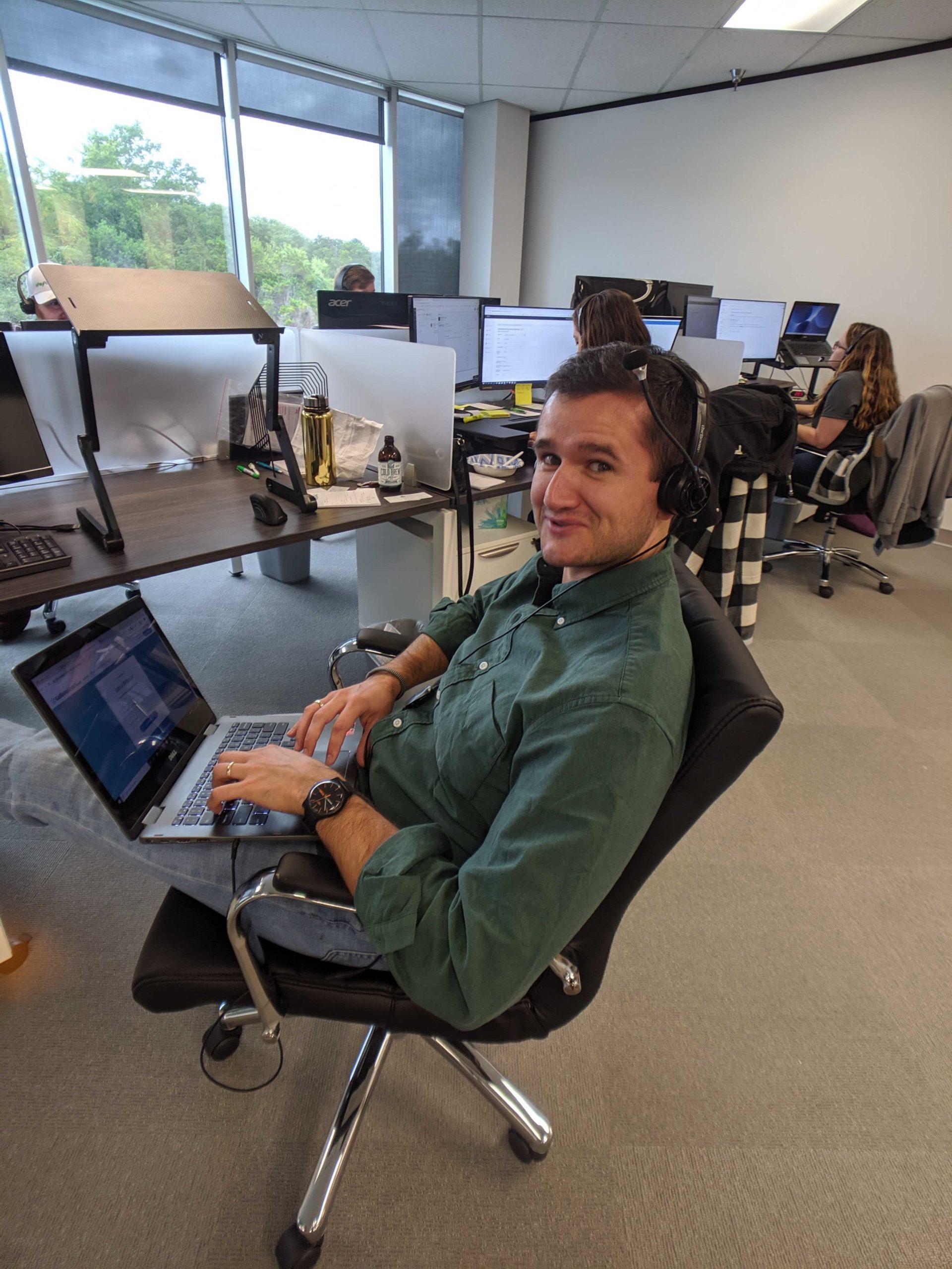 Company Culture - Team Member Nathan