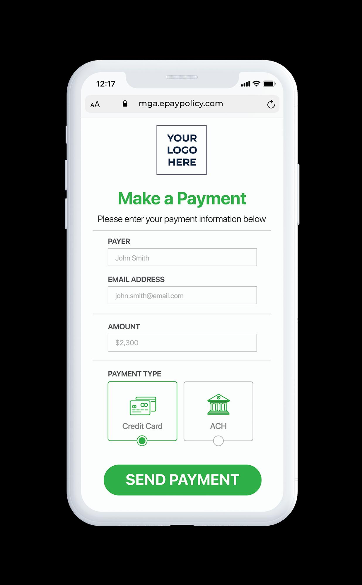 Basic Pay Page White Phone - mga2